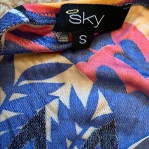 Sky Tops - Sky halter top